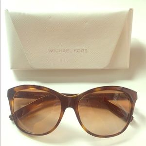 Michael Kors sunglasses and case